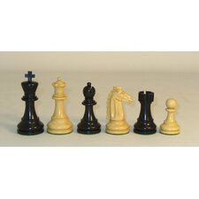 Black Mustang Chessmen