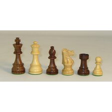 Sheesham French Chessmen