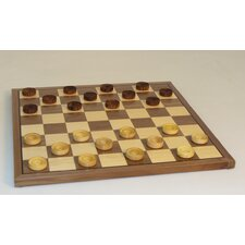 "<strong>Chopra</strong> 12"" Wood Checker Set"