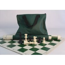 <strong>CN Chess</strong> Tournament Set with Green Tote