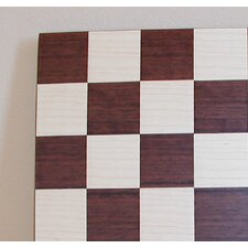 "14"" Veneer Chess Board in Dark Rosewood"