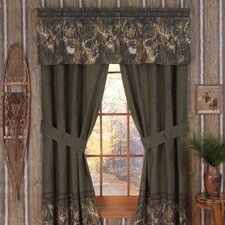 Whitetails 4 Piece Lined Drape Panel (Set of 2)