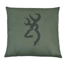 Buckmark Square Pillow