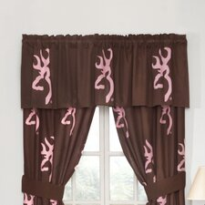 Buckmark Cotton Blend Curtain Valance