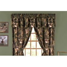 Camo Deer Cotton Curtain Valance