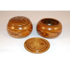 <strong>Play All Day Games</strong> Large Wood Go Bowls (Set of 2)