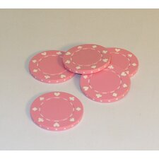 0.03 lb Poker Chips in Pink