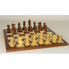 <strong>WorldWise Chess</strong> Sheesham French-Sapele Chess Set