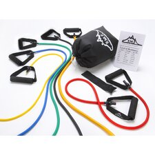 Resistance Band Set (6 Bands Included)