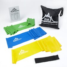 <strong>Black Mountain Products</strong> Therapy Exercise Resistance Band (Set of 3)