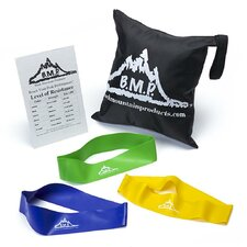 <strong>Black Mountain Products</strong> 5 Piece Resistance Loop Band Starter Kit
