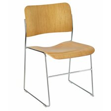 TeamFlex Armless Stacking Chair