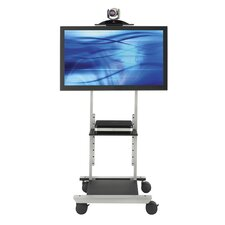 "Executive Video Conferencing Stand for 20""-42"" Screens"