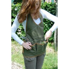 Lady Apron in Olive Green