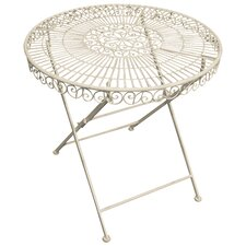 Old Rectory Round Steel Bistro Table