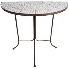 Botanicae Half Round Cast Iron Dining Table