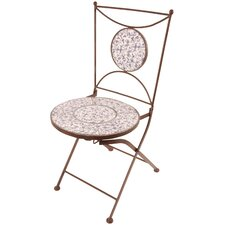 Aged Ceramics Folding Chair (Set of 2)