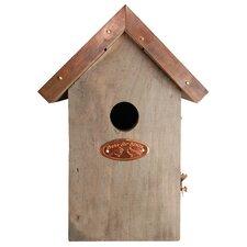 Copper Roof Wren Bird House