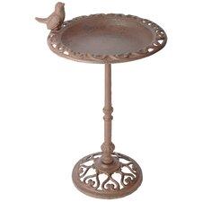 Bird Bath on Pole