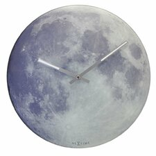 "<strong>Control Brand</strong> 11.81"" Moon Wall Clock"