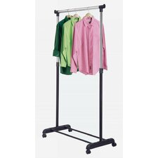 Single Adjustable Garment Rack