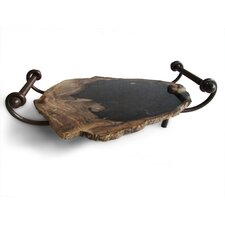 Good Form Petrified Wood Serving Tray