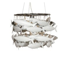 School of Fish 1 Light Pendant
