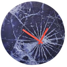 "16.9"" Crash Wall Clock"