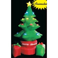 <strong>LB International</strong> Inflatable Rotating Tree with Gift Boxes