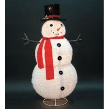 <strong>LB International</strong> Collapsible Furry Snowman