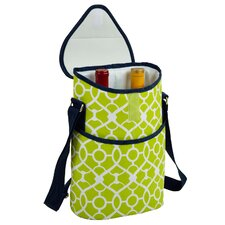 Trellis Two Bottle Tote