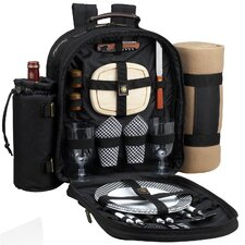 Classic Backpack with Two Place Settings