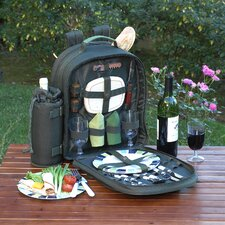 <strong>Picnic At Ascot</strong> Eco Picnic Backpack with Two Place Settings