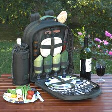 Eco Picnic Backpack with Four Place Settings