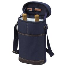 <strong>Picnic At Ascot</strong> Two Bottle Carrier in Blue