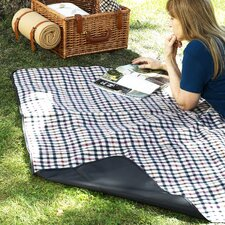 <strong>Picnic At Ascot</strong> Picnic Blanket with Attached Case in London Plaid