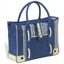 <strong>Picnic At Ascot</strong> Aegean Large Day Tote Bag