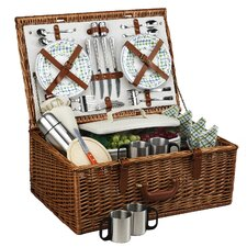 Dorset Basket for Four with Coffee Service in Gazebo