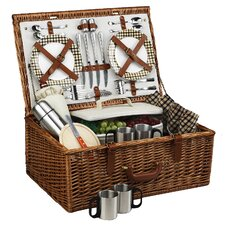 Dorset Basket for Four with Coffee Service in London