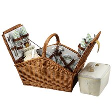 Huntsman Basket for Four in Gazebo