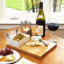 <strong>Picnic At Ascot</strong> Buxton Cheese Board & Tools Set