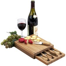 <strong>Picnic At Ascot</strong> Edam Square Cheese Board Set