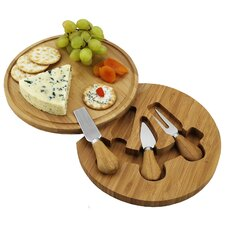 <strong>Picnic At Ascot</strong> Feta Round Cheese Board Set