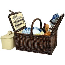 <strong>Picnic At Ascot</strong> Buckingham Picnic Basket for Four
