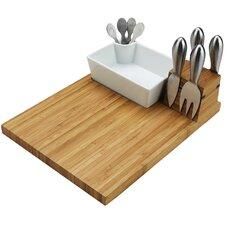 Buxton 4 Piece Tool & Cheese Tray Set