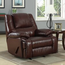 Cascadia Leather Chaise Recliner