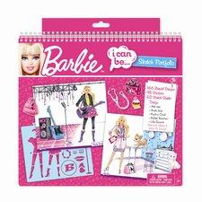 <strong>Fashion Angels</strong> Barbie I Can Be Sketch Portfolio