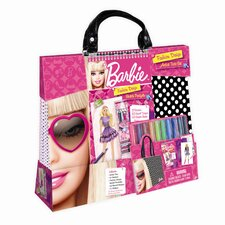 <strong>Fashion Angels</strong> Barbie Artist Tote Set