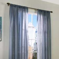 Insulated Rod Pocket Curtain Single Panel