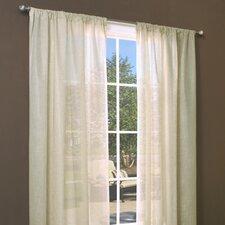 Weathershield Insulated Rod Pocket Curtain Panel